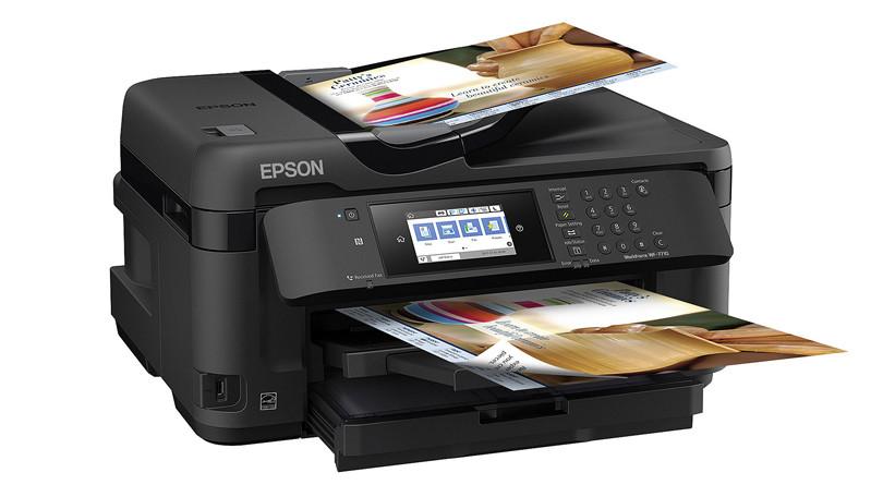 epson workforce wf 7710 sublimation printer