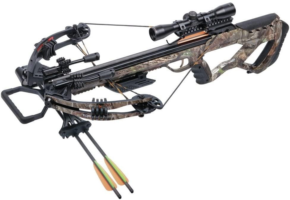 CenterPoint Tormenter Whisper 380 Camo-Compound Crossbow