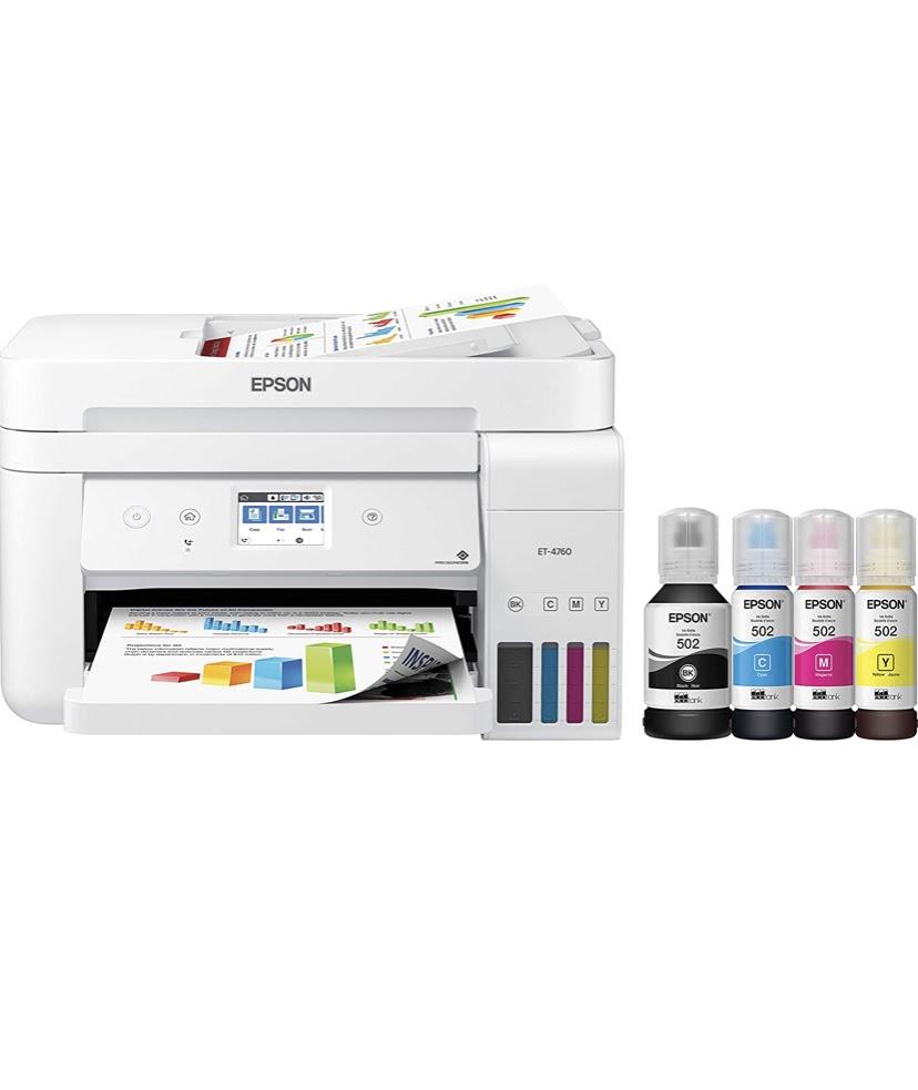 Epson EcoTank ET-4760 t-shirt sublimation printing